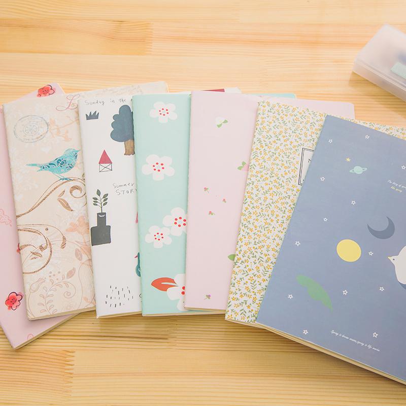 Ann Jiari cute Korean stationery B5 large notebook diary notebook products(China (Mainland))