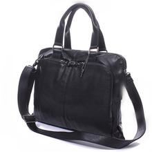 Men briefcase, 2015 new soft leather handbags, men's casual bag, shoulder messenger bag portfolio(China (Mainland))