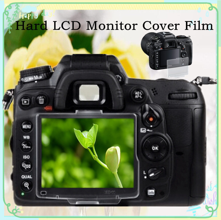 Hard LCD Monitor Cover Screen Protector Film For Nikon D200 Camera AS BM-6 Free Shipping Russia Brazil With Tracking NO.30pcs(China (Mainland))
