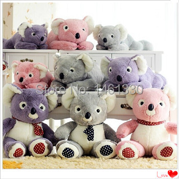 Giant stuffed teddy bear koala purple teddy bear soft toys kawaii plush toy wholesale toy factory direct valentine gift(China (Mainland))