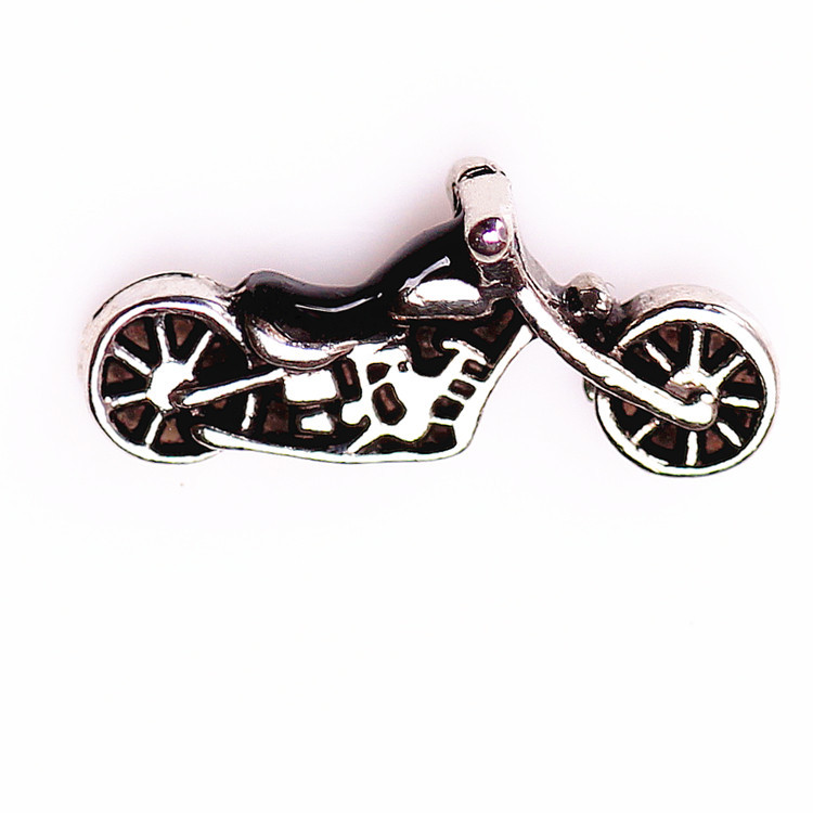 20pcslot new items motorcycle floating charm for origami