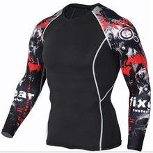 Mężczyźni bieganie Sport kompresja t koszula spodnie garnitury Jogging dresy męskie siłownia trening fitness odzież sportowa koszulki topy legginsy(China)