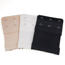 Hot Selling 1Pcs Bra Extenders Strap Extension 3 Hooks 3 Colors New Women Intimates(China (Mainland))