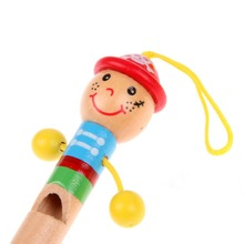 Baby Kids Wooden Toy Mini Whistle Pirates Developmental Toy Musical Toys NIE