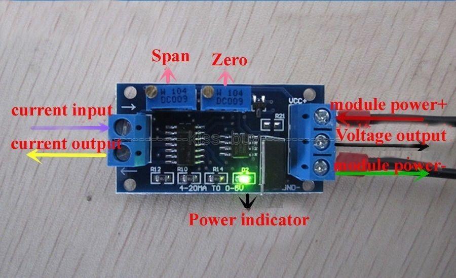 4-20mA current loop Arduino tutorial Part I: hardware