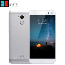 """ZTE Blade A2 Mobile Cell Phone 4G LTE MTK6750 Octa Core 1.5Ghz 5.0"""" HD 2GB RAM 16GB ROM 13MP Android 5.1 Fingerprint Touch ID(China (Mainland))"""
