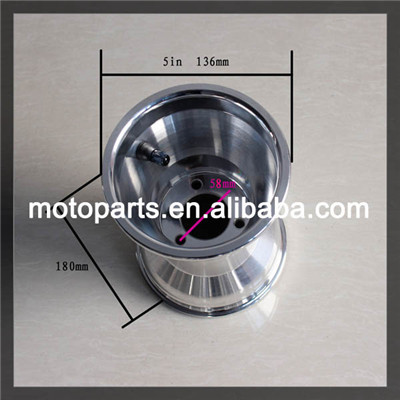 "5"" inch rear rims for go kart , go kart rear rims ,rims length 180mm installing hole 58mm(China (Mainland))"