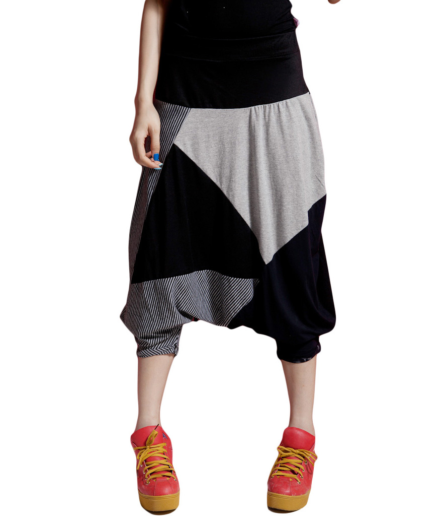 Professional For Women Baggy Harem Fashion Hippie Hip Hop Short Pants Trouser Onesize Oversized