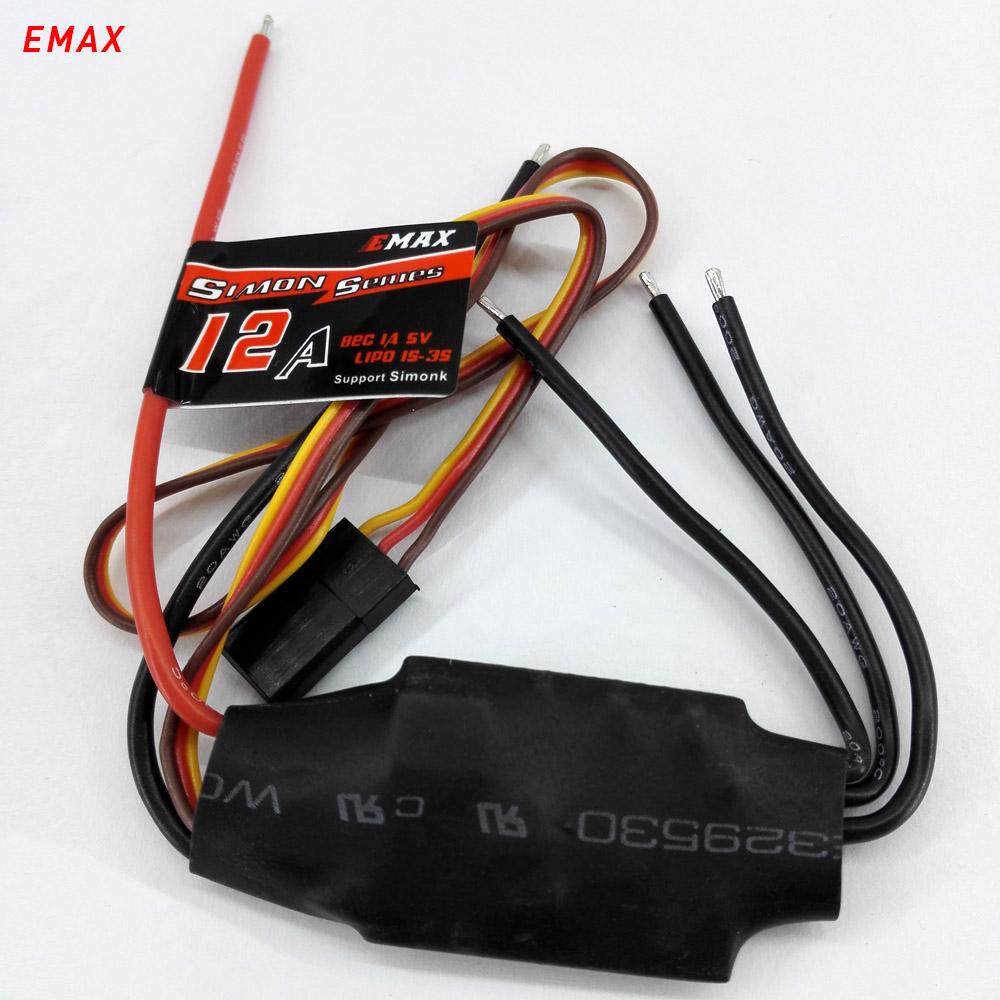 emax simonk 12A ubec multirotor brushless quadcopter ESC for rc models FAV