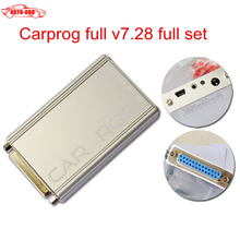 2015Car prog Carprog V7.28 Full 21 Adaptor Professional Carprog ECU Programmer Auto Repair Airbag Reset Tools best price(China (Mainland))