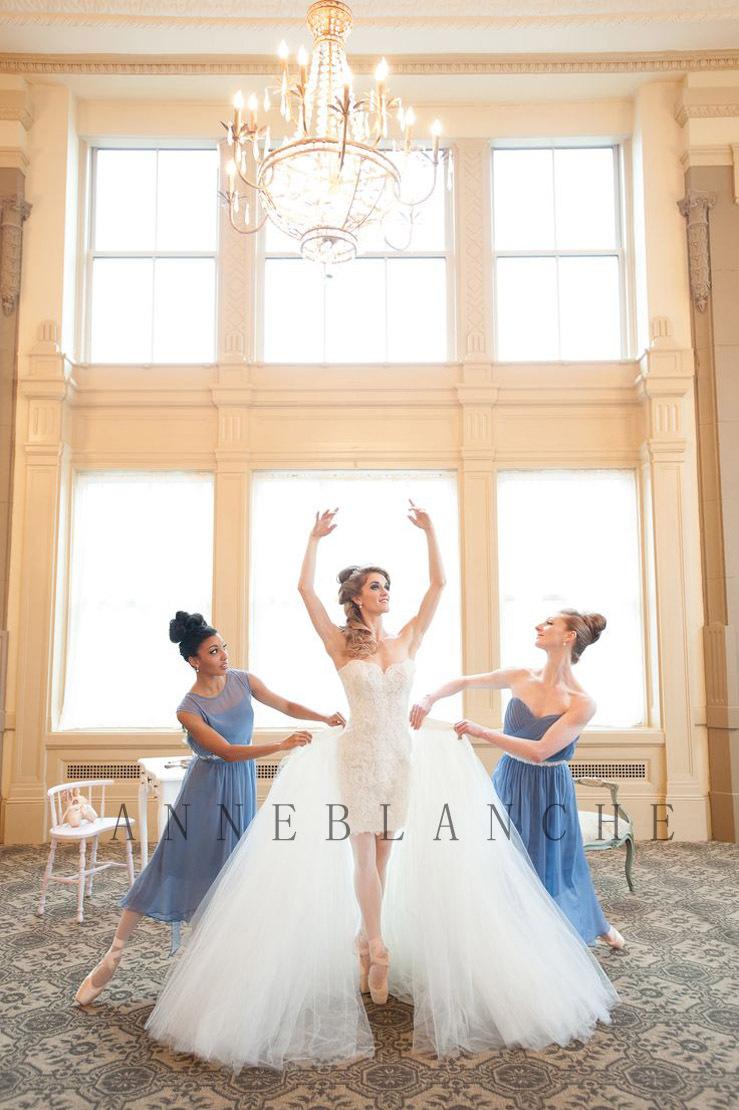 Popular detachable wedding dress skirt buy cheap for Removable tulle skirt wedding dress
