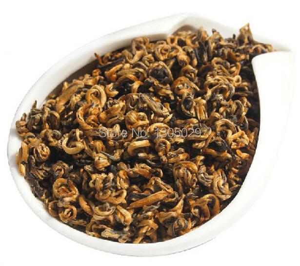 100 Reality Yunnan Dian Hong Black Tea100g Red Whorl Warm Body Tea Yunnan Black Tea Dianhong