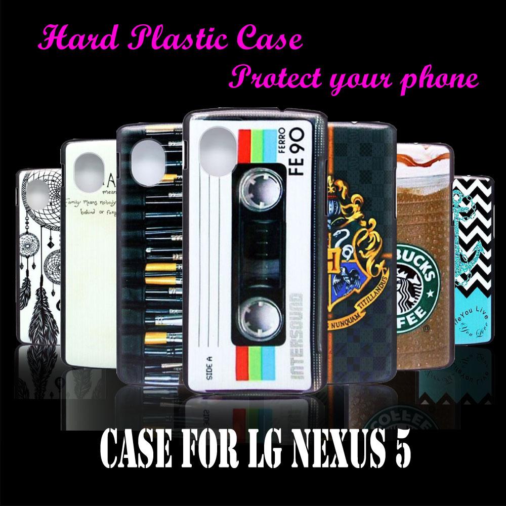 Mobile Phone Hard Plastic Case Cover LG Nexus 5 E980 D820 D821 Vintage Cassette Tape FE90 New Brand Skin Custom - CoolShopping store