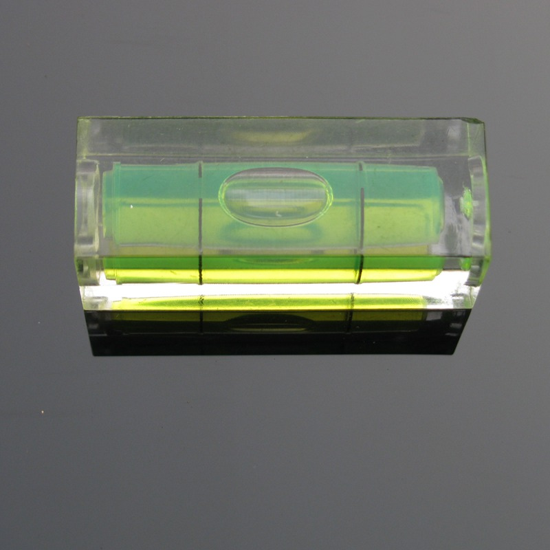 HACCURY 15*15*40mm Square Column Level spirit level bubble Water level indicator Tool Color Green Blue Red