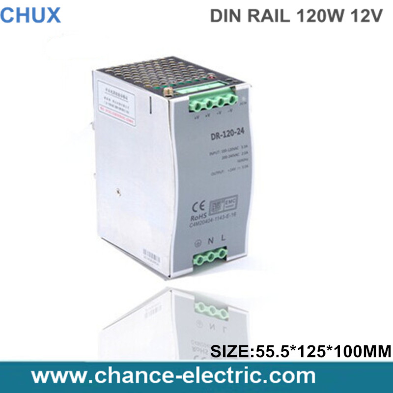 DIN-Rail type 12V LED industry 120W switching mode Power Supply   (DR120W-12V)