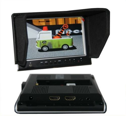 Free Shipping!Lilliput 7664/O/P IPS Slim Peaking HDMI In&amp;Out 1280*800p Field Monitor For DSLR<br><br>Aliexpress