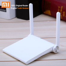 Official Chinese Version XiaoMi WIFI Router 300Mbps Roteador Youth Version Universal WiFi Repeater with Remote APP Control(China (Mainland))