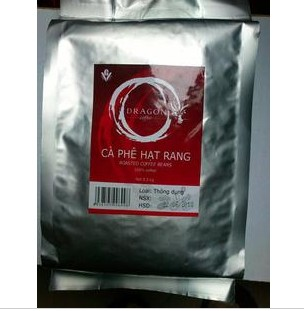 Super Detail Vietnam Coffee Beans 500g Bag Charcoal Pure Natural Pure Coffee Flavour