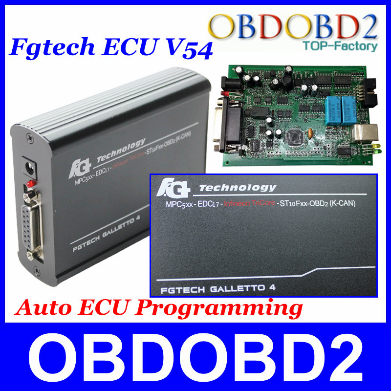 FGTech Galletto 4 Master V54 A+++ Quality Add BDM Function Full  Adapters FG Tech EOBD2 Infineon TriCore OBDK-CAN Multi-Language(China (Mainland))
