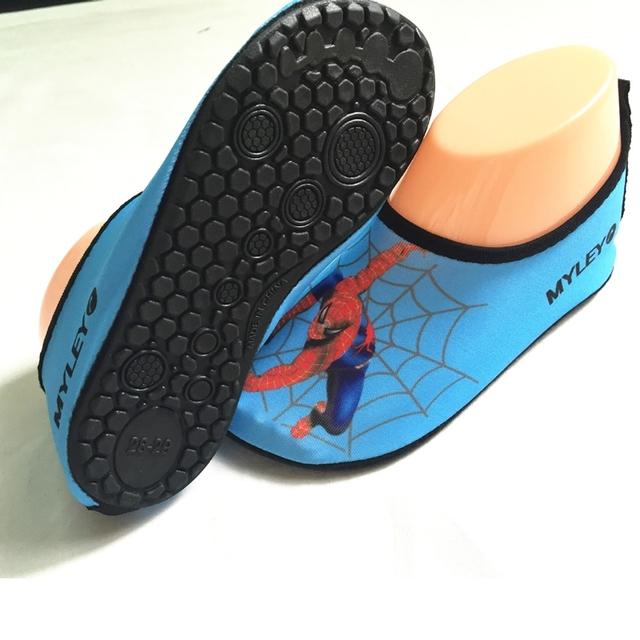 Новая Мода Детская Обувь Quick Dry спортивные кроссовки Anti-slip для Бассейн/Пляж ...