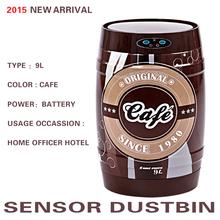 9л Fanstic оригинальный дизайн новое поступление нержавеющей стали датчик автоматическая смарт свалку мусора может мусора кафе