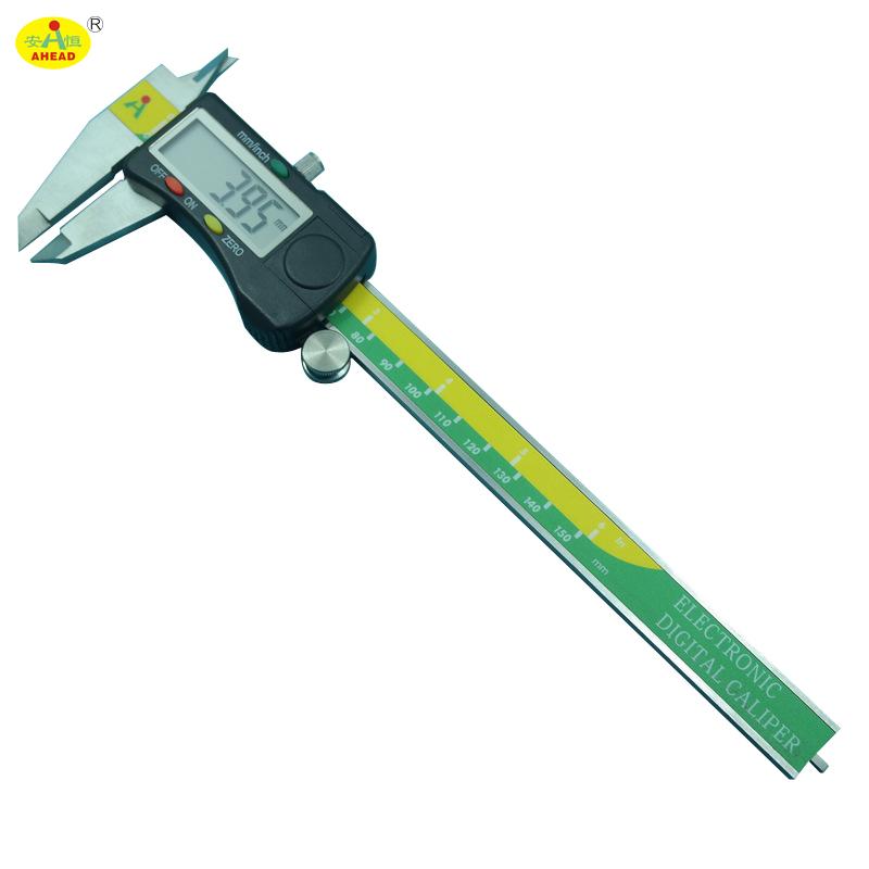 AHEAD Top Quality Stainless Steel 150mm/6inch Electronic Digital Vernier Caliper Micrometer Gauge AH150-46-112(China (Mainland))