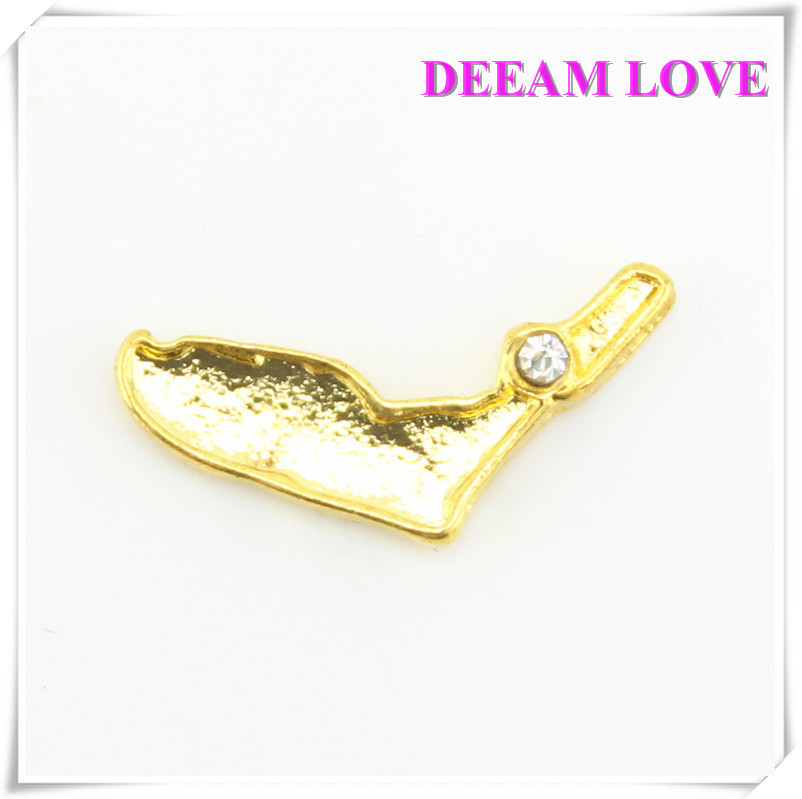 Plated gold alloy america florida floating Charms fit floating lockets 20pcs/lot Free Shipping(China (Mainland))