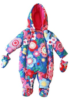 Famous brand winter baby rompers long sleeve high quality thick cotton-padded climbing clothing infant windproof warm jumpsuit