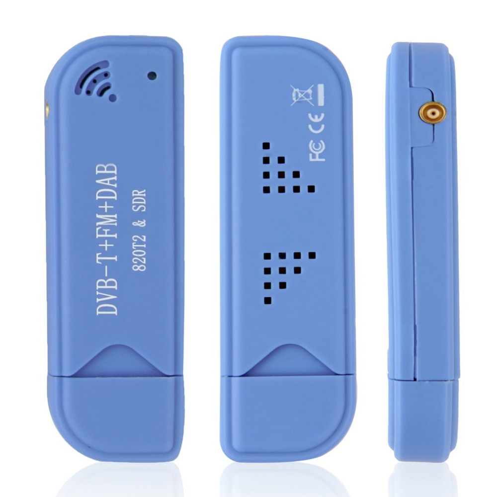 USB 2.0 Digital DVB-T SDR+DAB+FM HDTV TV Tuner Receiver Stick RTL2832U+R820T2 YKS