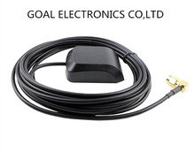 GPS antenna Car DVD navigation antenna GPS satellite positioning antenna SMA male connect GPS fix(China (Mainland))