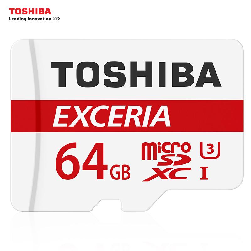 TOSHIBA Memory Card 128GB 64GB 32GB UHS-3 Max Read Speed 90M/s 16GB micro sd card Class10 UHS-1 flash card Memory Microsd(China (Mainland))