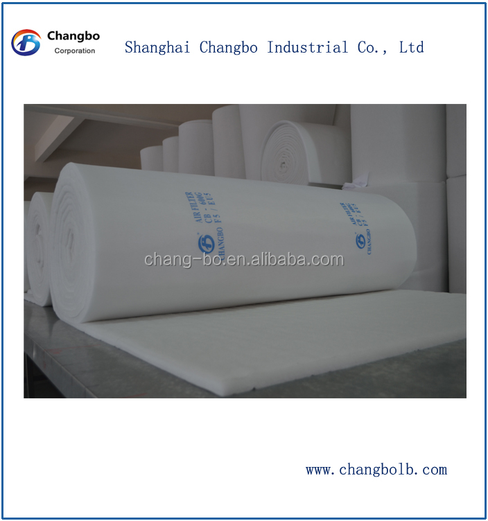 Spray Booth Ceiling Filter/Air Filter Material/Roof Filter/Industrial Air Filters(China (Mainland))