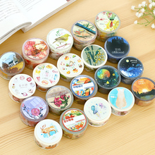 MIKIMOOD 20 Designs Japanese Washi Tape 30/20mm * 10m Scrapbooking Stickers Masking Decorative Scotch Tape Post Card Papeleria
