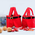 Merry Christmas Decoration Santa Claus Pants Candy Bag HOME DECOR Supplies GIFTS