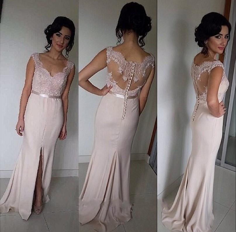 Length Lace Bridesmaid Dresses