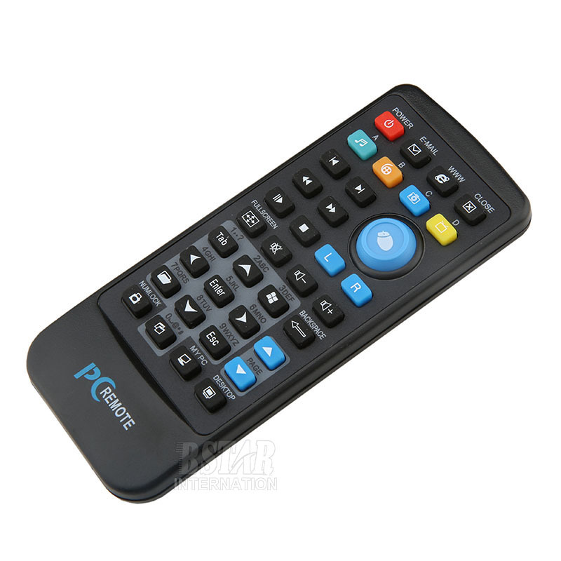 USB Media IR Wireless Mouse Remote Control Controller USB Receiver For Loptop PC Computer Center Windows