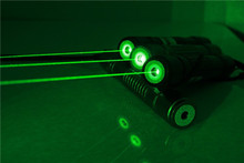 High quality!! Lasers  high powerwith 5 star heads 100mW focusable green laser flashlight laser torch (China (Mainland))