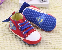 wholesale baby sneakers,hot sale superman baby shoes,fashion brand baby causal shoes,top quality brand baby shoes(China (Mainland))