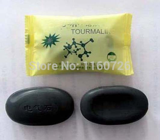 Tourmaline Soap Special Offer/Personal Care Soap/Face & Body Beauty Healthy Care/Free Shipping 2015 New 1pcs 50g(China (Mainland))