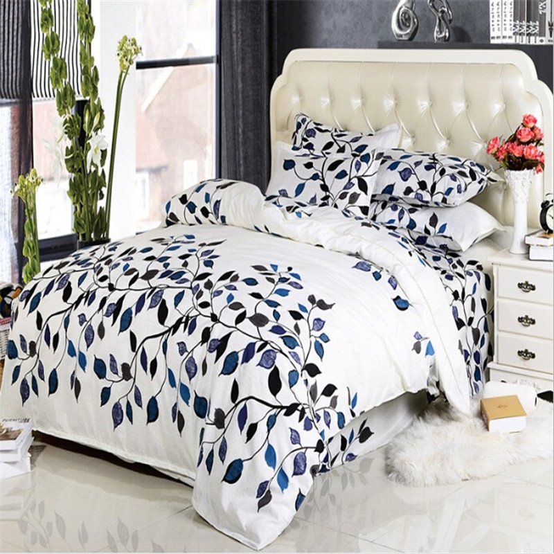 Fashion Comfort Cotton Bedding Sets King Queen,Fashion Duvet cover set Bed Set,No pilling,Contain 1 Quilt cover 2 Pillowcase(China (Mainland))