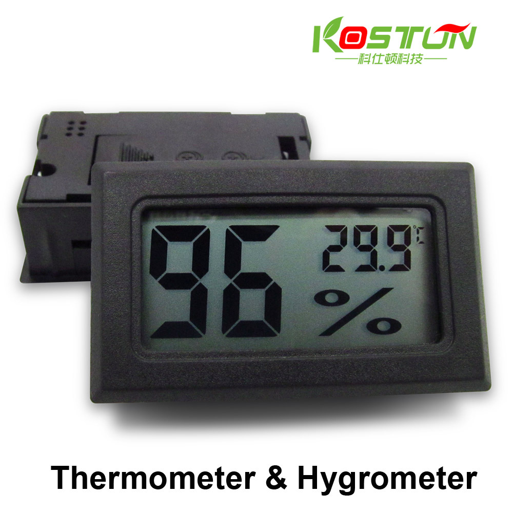 -50-110C Detecting Head RH Mini LCD Digital Thermometer Temperature Humidity Meter Aquarium Gauge Industry Hygrometer BLACK(China (Mainland))