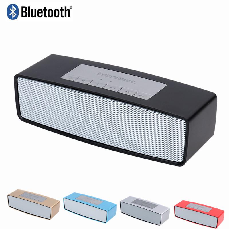 Original JKL speakers Mini Bluetooth speaker Portable Wireless speaker Sound System 3D stereo Music surround For computer phone(China (Mainland))