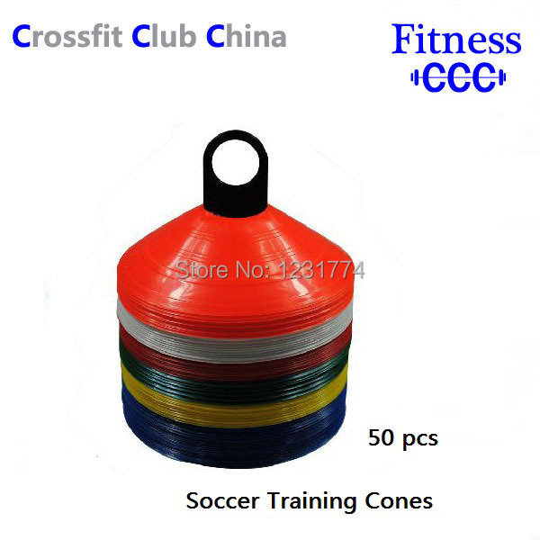 PE Soccer Football Speed Agility Training Saucer Disc Cones/Sport Field Training Equipment 50pcs(China (Mainland))