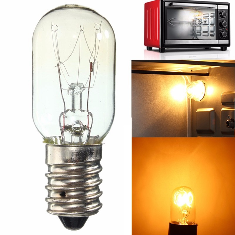 New E14 SES High Temperature 15W/25W 300 Celsius Warm White Oven Cooker Refrigerator Heat Resistant Light Bulb Lamp AC220-230V(China (Mainland))