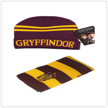Harry potter scarf and hats COS Gryffindor /slytherin/Ravenclaw /Hufflepuff neckerchief bufanda manta men and women hot scraf(China (Mainland))