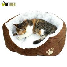Umiwe Soft Warm Paw Style Cat Dog Beds Nest Pad Fleece Pets House(China (Mainland))