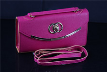 The explosion of portable color edge woman bag metal edge hand bag ladies leisure kip pling