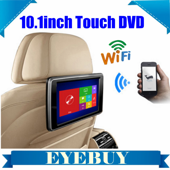 universal 10.1inch HD Touch headrest Car DVD player Monitor Wifi w/ Android phone for Benz BMW Audi VW for ford Toyota Nissan<br><br>Aliexpress
