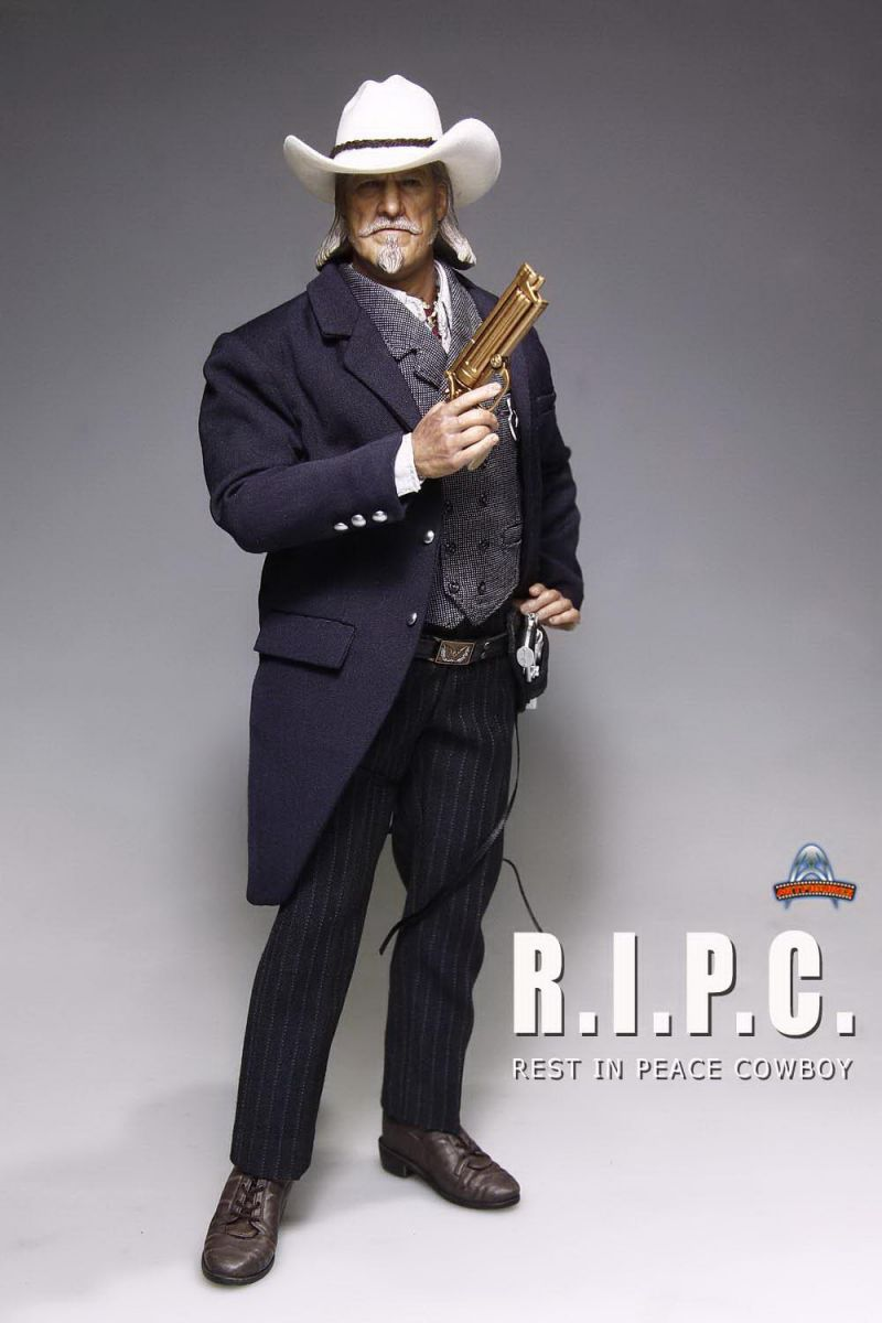 "1/6 scale figure doll R.I.P.C REST IN PEACE COWBOY Rest In Peace Department 12"" Action figure doll Collectible model toys(China (Mainland))"