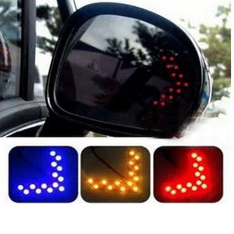 Fashion Car Accessories Turn Signal Arrows Light Side Mirror Led Guide Light 4 Colors CAR 0192
